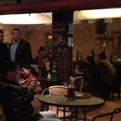 Photo taken at El Jardín Secreto - Lounge Bar by Veronica W. on 10/2/2012