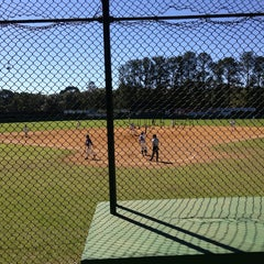 Photo taken at Campo Baseball Blue Jays by Vivianne O. on 7/28/2013