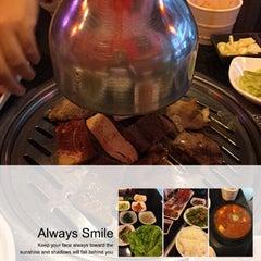 Photo taken at 람람 Lum Lum Korean Restaurant อาหารเกาหลี ล้ำลำ by Cakekungclub on 4/22/2015