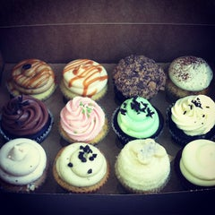 Photo taken at Frost Cupcake Factory by Mackenzie S. on 5/21/2013