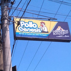Photo taken at Pollos Genesis by Gaby O. on 3/9/2013