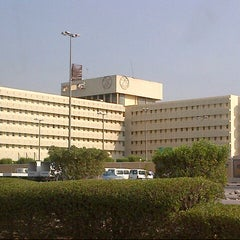 Photo taken at College of Arts by Alaa A. on 10/18/2012