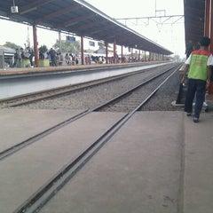 Photo taken at Stasiun Depok Lama by Hedwig G. on 11/13/2012