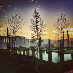 Photo taken at Boscareto Resort & Spa Serralunga d'Alba by Maria Teresa D E. on 12/9/2015