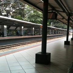 Photo taken at Stasiun Sudirman by Bianca Levina L. on 10/1/2012