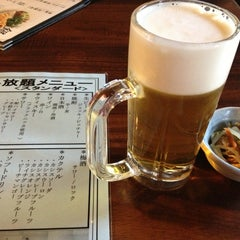 Photo taken at 鶏と魚が旨い店 Uo 魚 西船橋店 by Keiichi T. on 6/2/2013