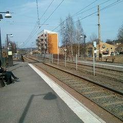 Photo taken at Hållplats Kaggeledstorget (S) by Frans L. on 4/14/2013