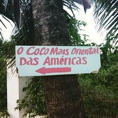 Photo taken at Cabo Branco by Fernando A. on 4/2/2015