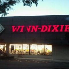 Photo taken at Winn-Dixie by Amanda T. on 10/10/2012