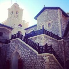 Photo taken at Kykkos Monastery by Ksana_Popova on 10/9/2013