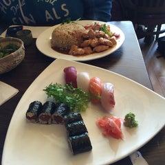 Photo taken at Kiraku Hibachi & Sushi by SilverDot⚪️ C. on 3/12/2015
