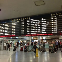 Photo taken at New York Penn Station by bobby b. on 9/13/2013