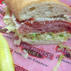 Photo taken at Firehouse Subs by Mike K. on 10/25/2013