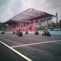 Photo taken at Sentul International Circuit by Heri K. on 11/4/2012