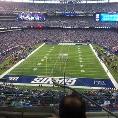 Photo taken at MetLife Stadium by Maria &. on 10/6/2013