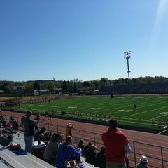 Photo taken at Garry Berry Stadium by Jenn E. on 5/14/2014