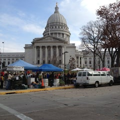 Photo taken at Capitol Square by Caroline R. on 11/10/2012