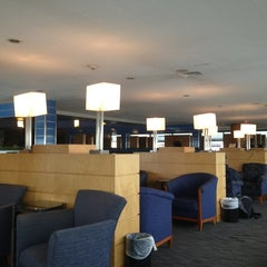 Photo taken at Delta Sky Club by Alexey S. on 2/22/2013