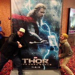 Photo taken at Cinemark Tinseltown 14 - Newgate by Ry G. on 11/8/2013