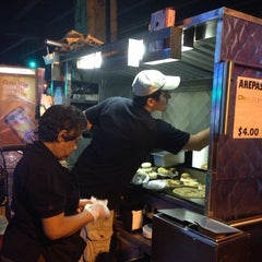 Photo taken at The Arepa Lady by Stephanie V. on 9/27/2014