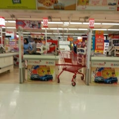 Photo taken at LotteMart by Teguh P. on 10/2/2012
