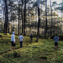 Photo taken at Pine Forest Camp by Unggul P. on 8/22/2015
