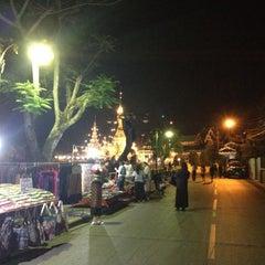 Photo taken at ถนนคนเดิน แม่ฮ่องสอน by Rakjung on 2/26/2015
