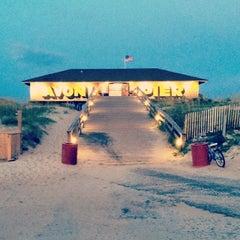 Photo taken at Avon Fishing Pier by Scottie W. on 7/26/2014