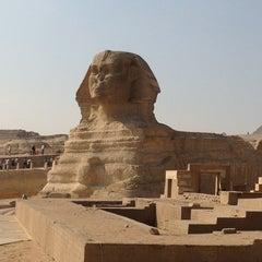 Photo taken at Great Sphinx of Giza | تمثال أبو الهول by Ingo R. on 1/4/2013