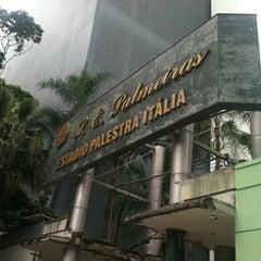 Photo taken at Sociedade Esportiva Palmeiras by Carol R. on 12/8/2012