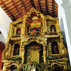 Photo taken at Iglesia Santa Librada by Ivan V. on 4/4/2015