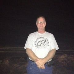 Photo taken at Fort Crockett Seawall Park by Sherry G. on 11/27/2012