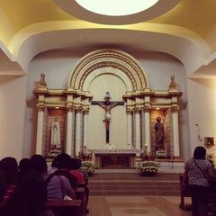 Photo taken at Chapel of the Eucharistic Lord by Mark Jayson S. on 1/20/2013