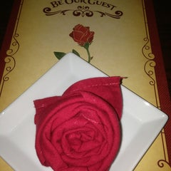 Photo taken at Be Our Guest Restaurant by Brenda H. on 7/8/2013
