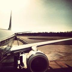 Photo taken at Bellingham International Airport (BLI) by Tawni L. on 3/10/2013