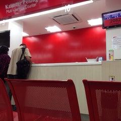 Photo taken at POS Malaysia by Faiz R. on 8/12/2014