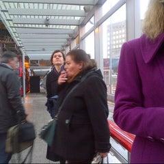 Photo taken at London Bridge Bus Station by Kat S. on 11/26/2012