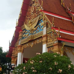 Photo taken at วัดพุทธมงคลนิมิตร (Wat Buddhamongkolnimit) by Pimchanok S. on 7/15/2014