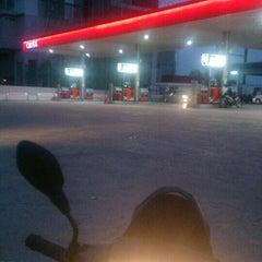 Photo taken at Caltex Taman Sejati by Ku S. on 12/18/2015