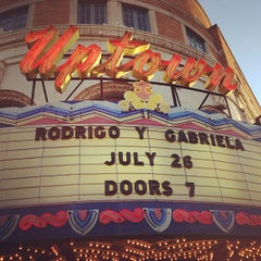 Photo taken at Uptown Theater by Albert T. on 7/27/2013