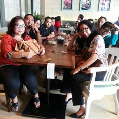 Photo taken at Kafe Betawi by Andreas S. on 7/31/2014
