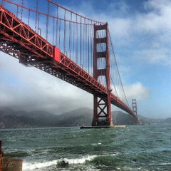 Photo taken at Golden Gate Bridge by Radim S. on 7/5/2013