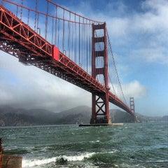Photo taken at Golden Gate Bridge by Radim S. on 7/5/2013
