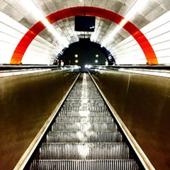 Photo taken at Haymarket Metro Station by Toby H. on 10/10/2015