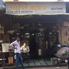 Photo taken at Chor Bazaar (Thieves' Market) by Eldar S. on 1/16/2014