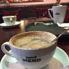 Photo taken at Caffè Nero by Kikania L. on 1/7/2015
