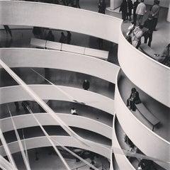 Photo taken at Solomon R. Guggenheim Museum by Armando M. on 4/21/2013
