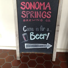 Photo taken at Sonoma Springs Brewing Co. by Melissa S. on 9/20/2013