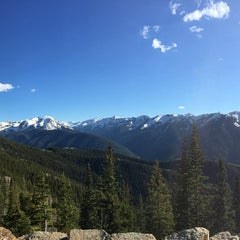 Photo taken at The Sundeck at Aspen Mountain by Brian N. on 6/9/2015