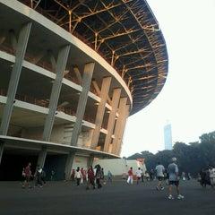 Photo taken at Lapangan A Senayan by Arif F. on 5/3/2013